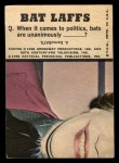 1966 Topps Batman Color #49 CLR  The Riddler Back Thumbnail
