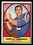 1967 Topps #103  Daryle Lamonica  Front Thumbnail