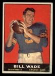 1961 Topps #10  Bill Wade  Front Thumbnail