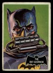 1966 Topps Batman Black Bat #43 BLK  The Bat-Gasmask Front Thumbnail