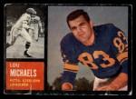 1962 Topps #132  Lou Michaels  Front Thumbnail