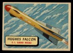 1957 Topps Planes #73 RED  Hughes Falcon Front Thumbnail