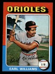 1975 Topps Mini #97  Earl Williams  Front Thumbnail
