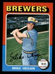 1975 Topps Mini #99  Mike Hegan  Front Thumbnail