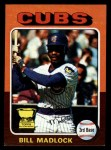 1975 Topps Mini #104  Bill Madlock  Front Thumbnail