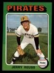 1975 Topps Mini #124  Jerry Reuss  Front Thumbnail