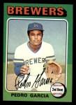 1975 Topps Mini #147  Pedro Garcia  Front Thumbnail