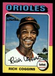 1975 Topps Mini #167  Rich Coggins  Front Thumbnail