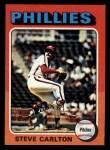 1975 Topps Mini #185  Steve Carlton  Front Thumbnail