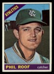 1966 Topps #382  Phil Roof  Front Thumbnail