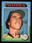 1975 Topps Mini #558  Dave Roberts  Front Thumbnail