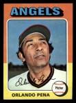 1975 Topps Mini #573  Orlando Pena  Front Thumbnail