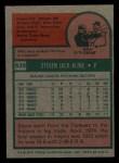 1975 Topps Mini #639  Steve Kline  Back Thumbnail