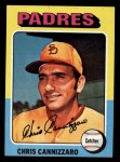 1975 Topps Mini #355  Chris Cannizzaro  Front Thumbnail