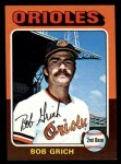 1975 Topps Mini #225  Bobby Grich  Front Thumbnail