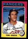 1975 Topps Mini #234  Tom Grieve  Front Thumbnail