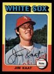 1975 Topps Mini #243  Jim Kaat  Front Thumbnail