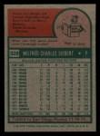 1975 Topps Mini #328  Sonny Siebert  Back Thumbnail