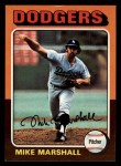 1975 Topps Mini #330  Mike Marshall  Front Thumbnail