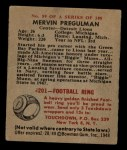 1948 Bowman #59  Mervin Pregulman  Back Thumbnail
