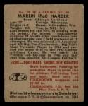 1948 Bowman #29  Pat Harder  Back Thumbnail