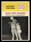 1961 Fleer #50   -  Walter Dukes In Action Front Thumbnail