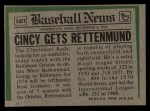 1974 Topps Traded #585 T  -  Merv Rettenmund Traded Back Thumbnail