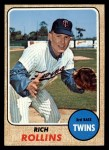 1968 Topps #243  Rich Rollins  Front Thumbnail