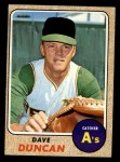 1968 Topps #261  Dave Duncan  Front Thumbnail