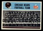 1966 Philadelphia #27   Bears Team Front Thumbnail