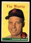 1958 Topps #170  Vic Wertz  Front Thumbnail