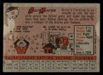 1958 Topps #98 ^WN^ Billy Hunter  Back Thumbnail