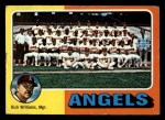 1975 Topps Mini #236   -  Dick Williams Angels Team Checklist Front Thumbnail