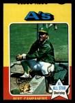 1975 Topps Mini #170  Bert Campaneris  Front Thumbnail