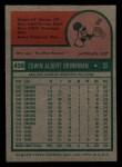 1975 Topps Mini #439  Ed Brinkman  Back Thumbnail