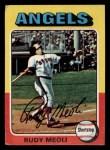 1975 Topps Mini #533  Rudy Meoli  Front Thumbnail