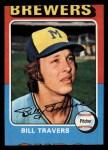 1975 Topps Mini #488  Bill Travers  Front Thumbnail