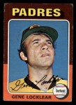 1975 Topps Mini #13  Gene Locklear  Front Thumbnail