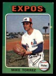 1975 Topps Mini #254  Mike Torrez  Front Thumbnail
