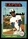 1975 Topps Mini #416  Larry Lintz  Front Thumbnail