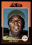 1975 Topps Mini #607  Jim Holt  Front Thumbnail