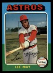 1975 Topps #25  Lee May  Front Thumbnail