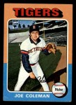 1975 Topps Mini #42  Joe Coleman  Front Thumbnail