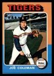 1975 Topps Mini #42  Joe Coleman  Front Thumbnail