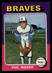 1975 Topps Mini #130  Phil Niekro  Front Thumbnail