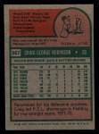 1975 Topps Mini #367  Craig Robinson  Back Thumbnail