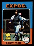 1975 Topps Mini #229  Barry Foote  Front Thumbnail