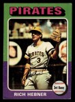 1975 Topps Mini #492  Richie Hebner  Front Thumbnail