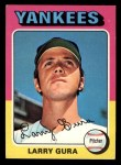 1975 Topps Mini #557  Larry Gura  Front Thumbnail