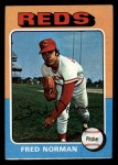 1975 Topps Mini #396  Fred Norman  Front Thumbnail